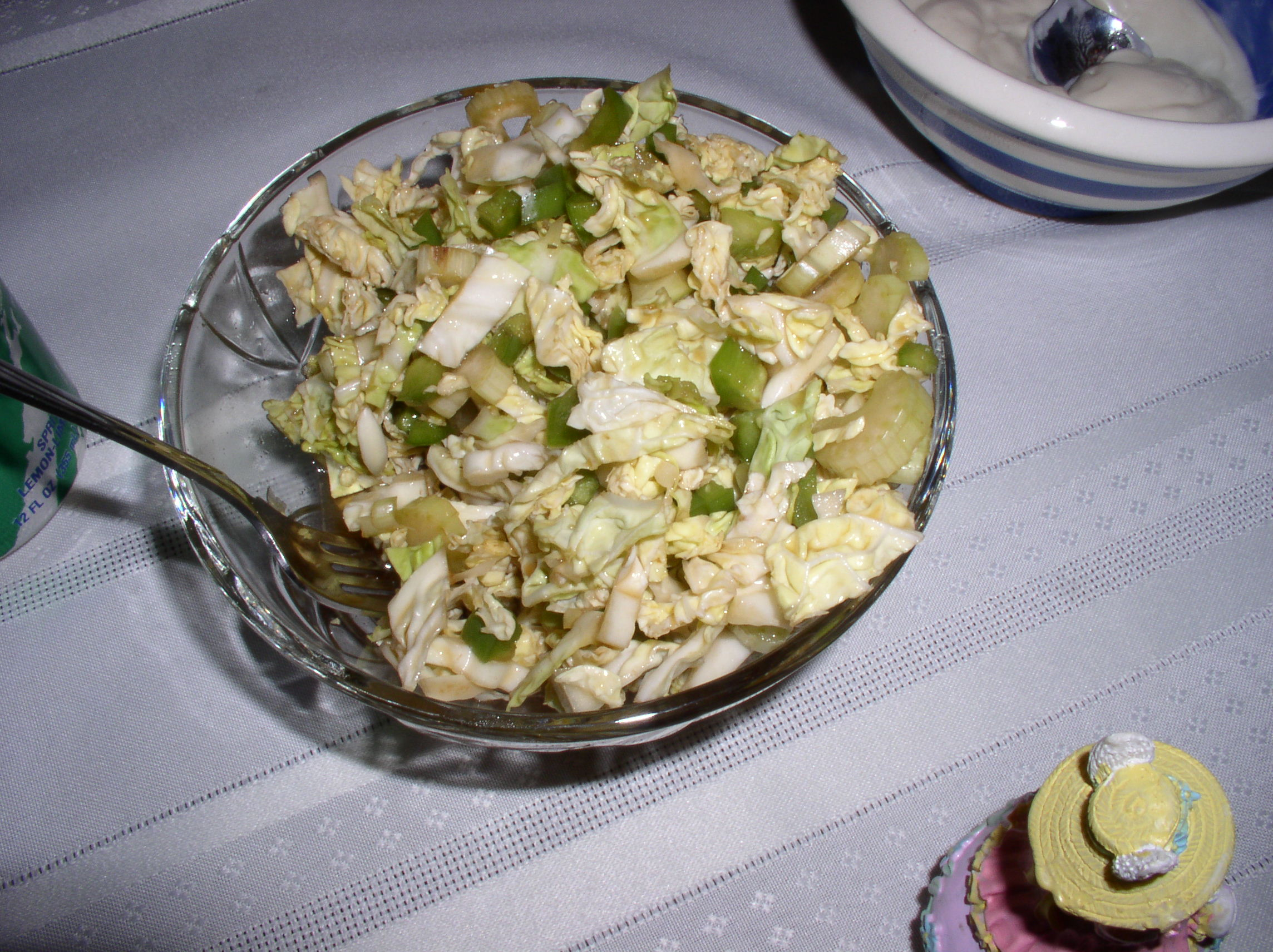 "Savoy Cabbage ""Relish Salad"""