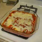 cheese and spinach stuffed shells