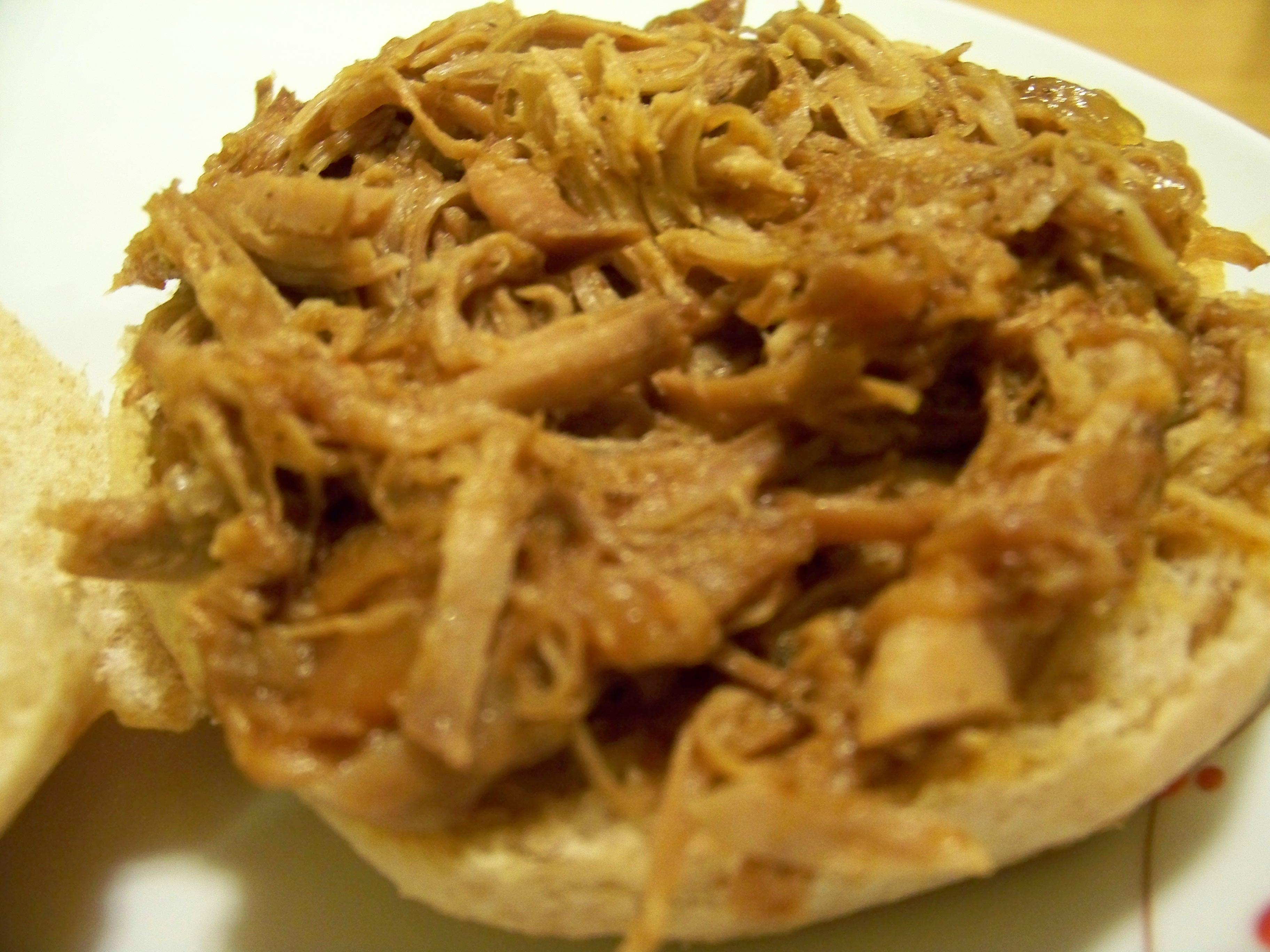 Crockpot / Slow Cooker Pulled Pork Recipe