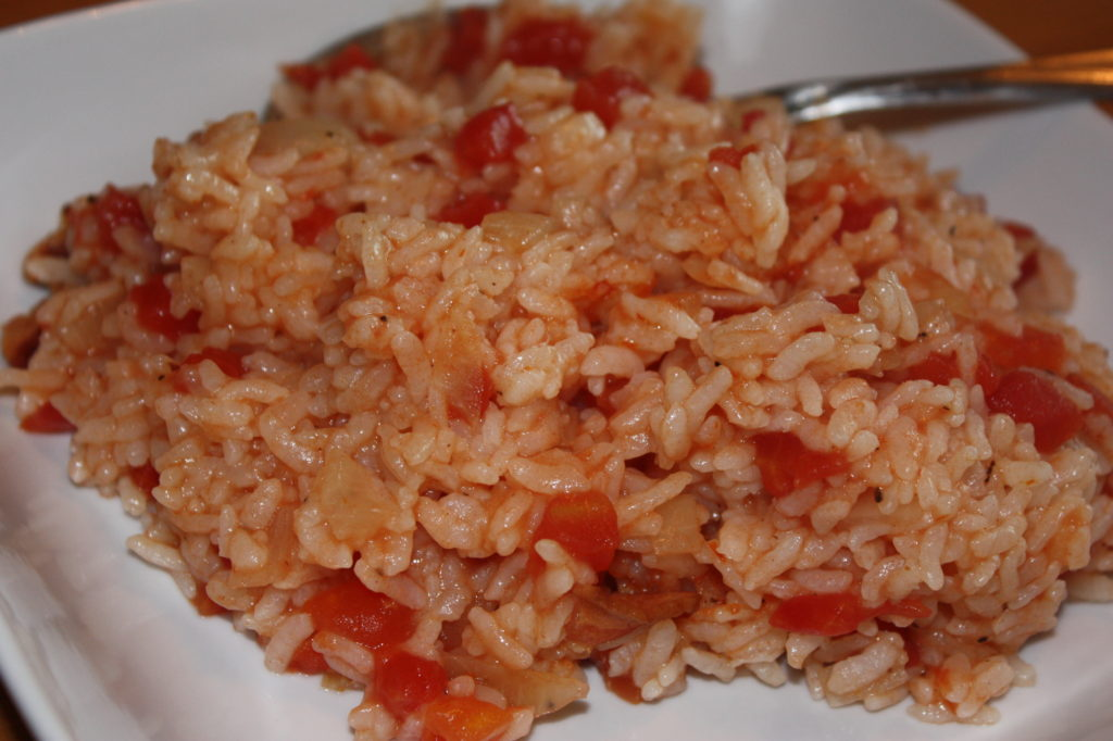 Red Rice from Maya Angelou