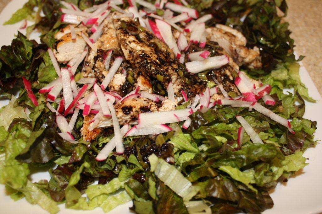 warm-spiced chicken salad
