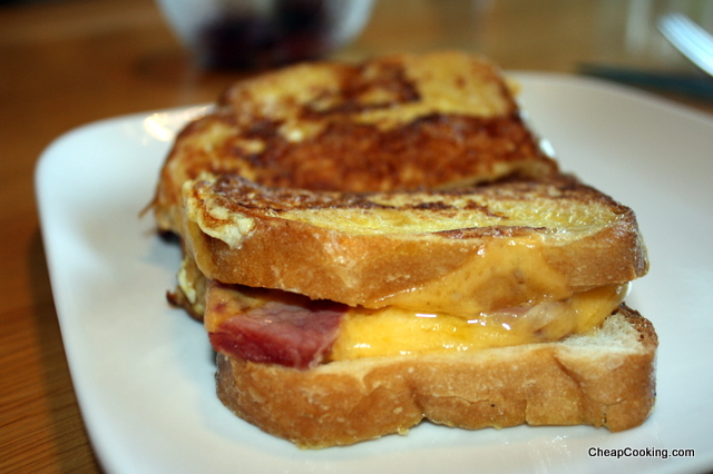 Name This Sandwich: Grilled Ham and Cheese Meets French Toast
