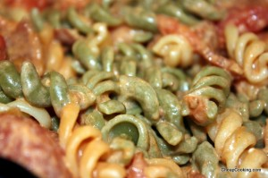 Bacon and Tomato Pasta