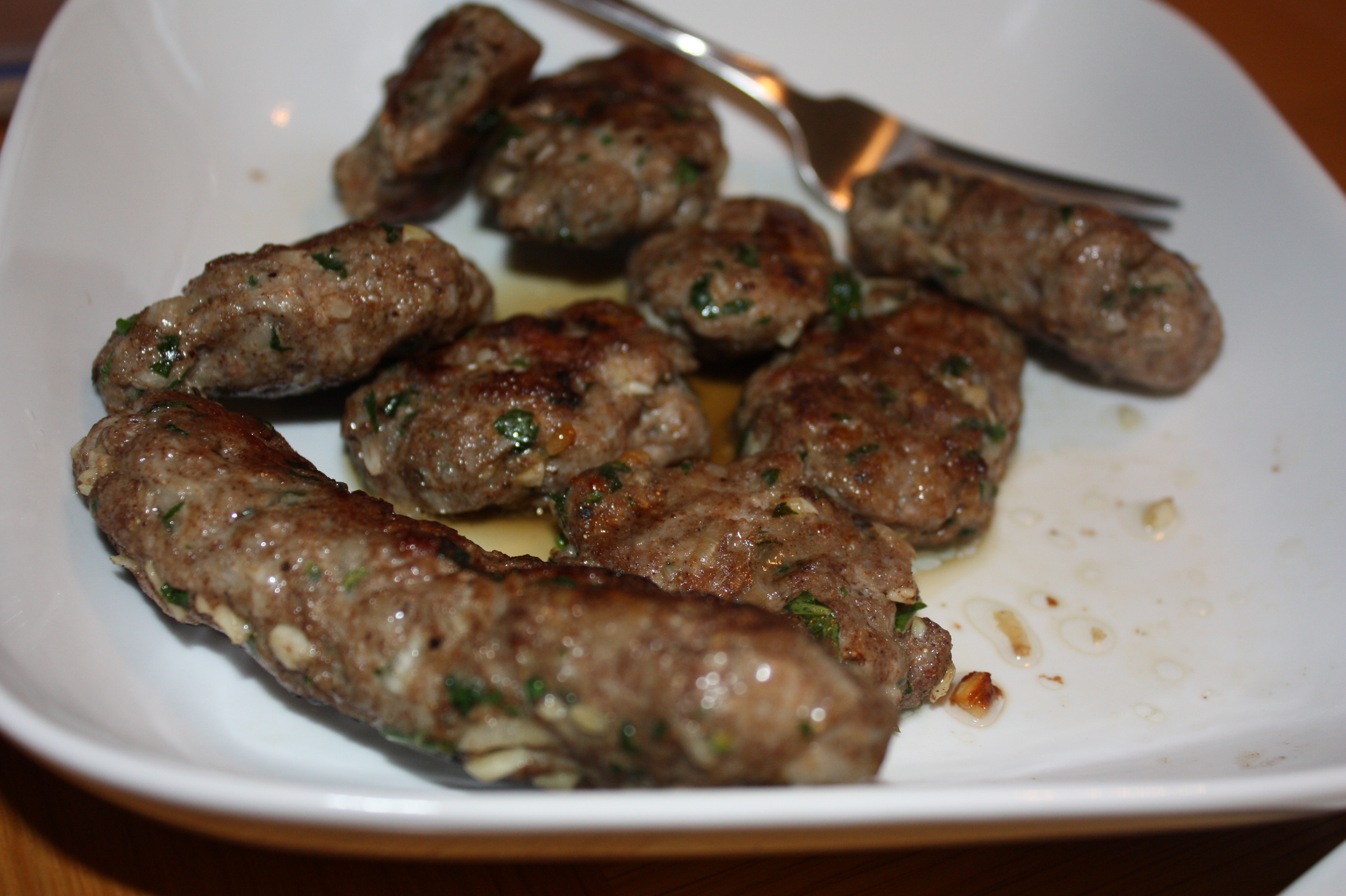 Ground Lamb Kofta