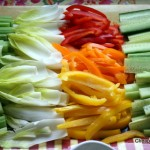 veggies for dip aka crudites