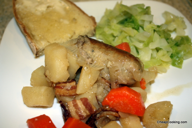simple cooked cabbage