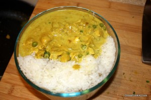 curry packed to go