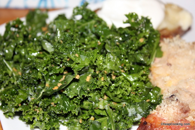 Raw Kale Salad from Dr. Weil