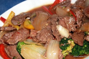 Beef, Broccoli & Peppers Stir Fry