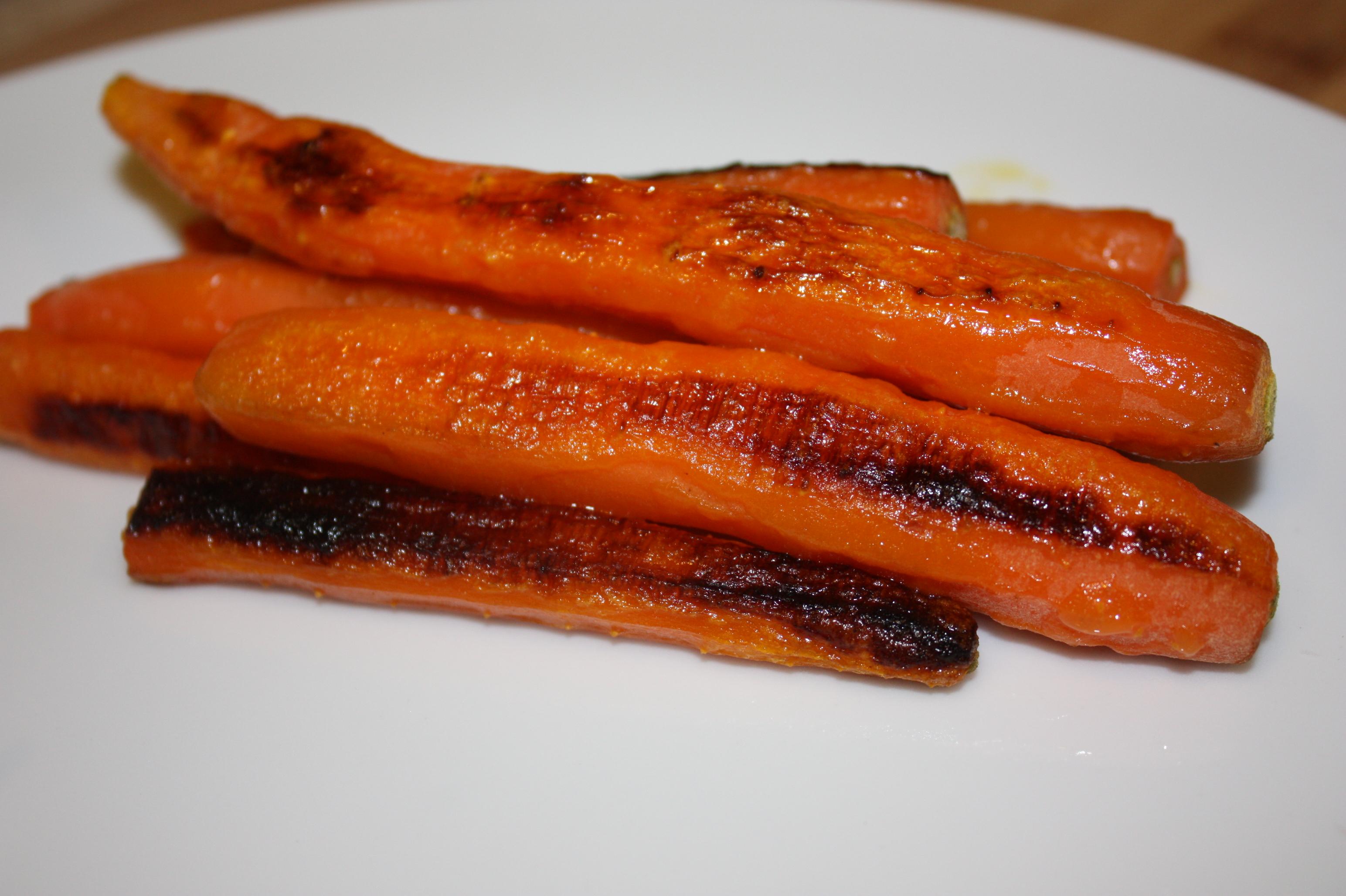Roast carrots