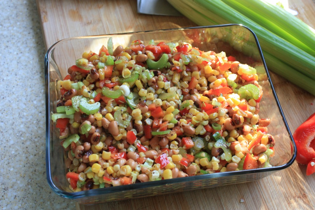 corn and black-eyed pea salad