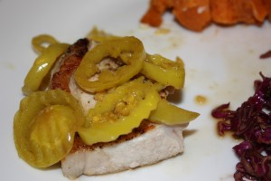 Pork with Pickled Peppers
