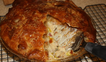 Chicken and Leek Pie from Nigel Slater