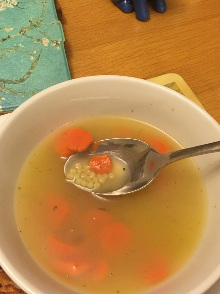 frog eye soup