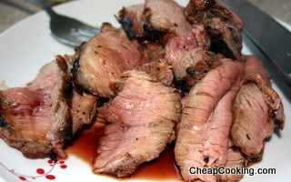 Soy Sauce and Honey Marinade for Steak