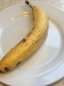 very ripe banana