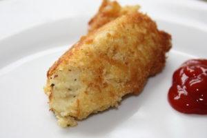 potato croquette aka homemade tater tots