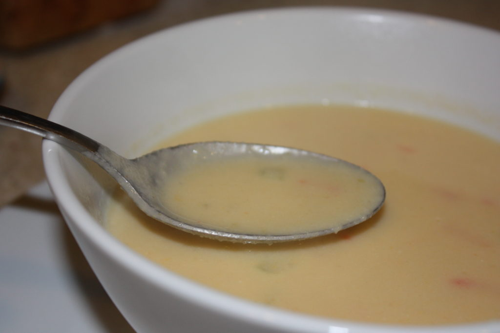 Cauliflower Cheese and Beer Soup