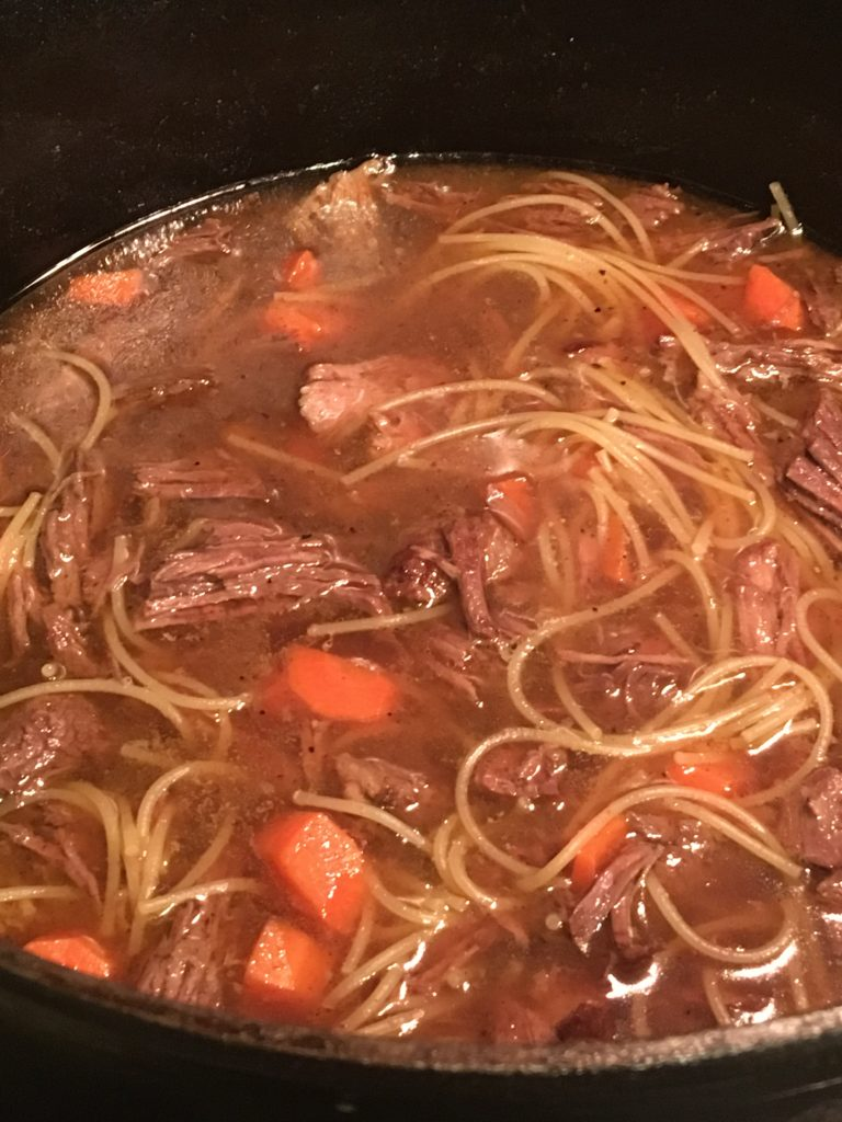 Odette's Beef and Vermicelli Soup