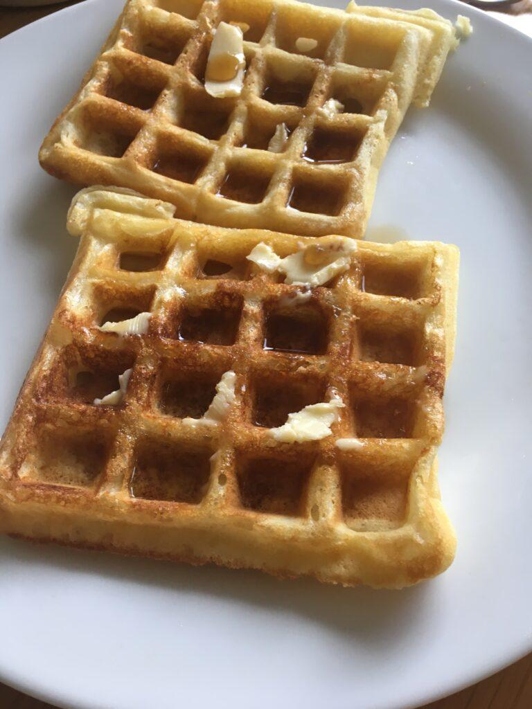 aretha franklin's waffles of insane greatness