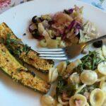 pasta with broccolini, pancetta and lemon cream sauce
