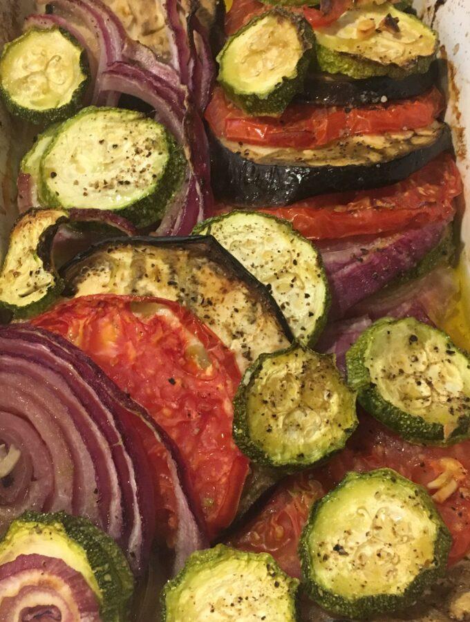 Dorie's summer vegetable tian